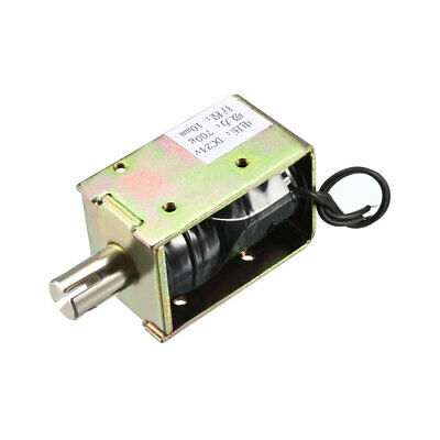 DC 24V 1.37A 10mm Electromagnetic Solenoid Lock Pull Type for Cabinet Safe Lock