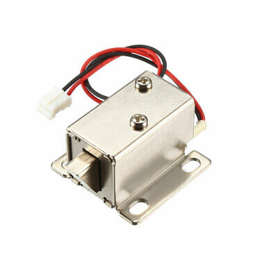 DC 6V 1A 6mm Mini Electromagnetic Solenoid Lock Assembly Tongue Down Door Lock