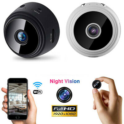 Mini IP WIFI Camera 1080P HD Wireless Hidden Home Security Spy Dvr Night Vision