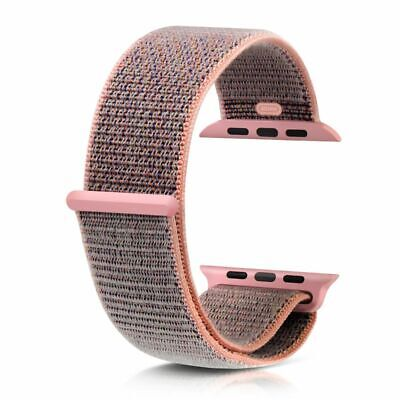 Genuine OEM Woven Nylon Sport Loop Band Strap For Apple Watch Series 4 40mm 44mm