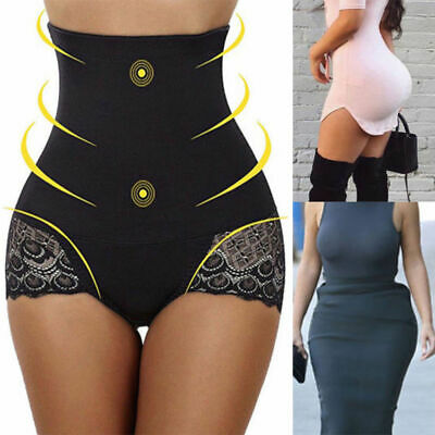 Women Body Shaper High Waist Shorts Shapewear Firm Tummy Control Slim Underwear
