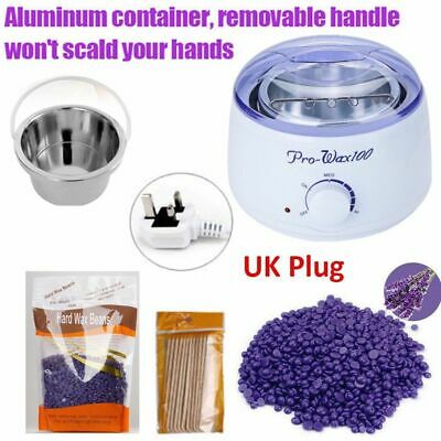 Hard Wax Beans Heater Wax Pot Warmer Machine Kit Tool For Painless Hair Removal