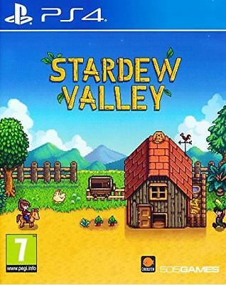 Stardew Valley (PS4)  BRAND NEW AND SEALED - IN STOCK - QUICK DISPATCH