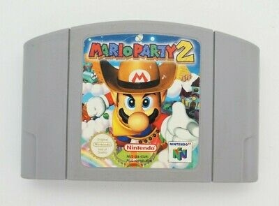 Mario Party 2 for Nintendo 64 N64 **100% ORIGINAL** CART ONLY