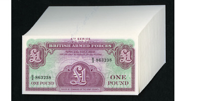 Great Britain £1 (1962 FORTY THREE Consecutve Notes Pick M36a gem grade =======