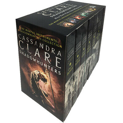 The Mortal Instruments A Shadowhunters Collection 6 Books Set By Cassandra Clare