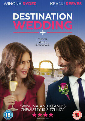 Destination Wedding DVD (2019) Keanu Reeves ***NEW***