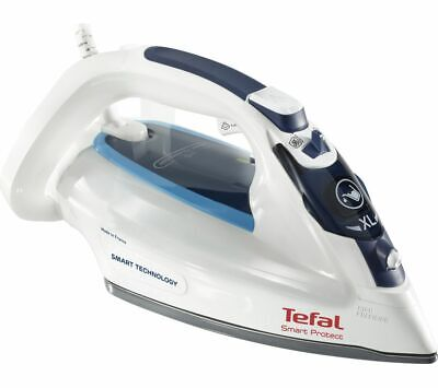 Tefal FV4980 2600W 0.27L No Burning One Setting Smart Protect Steam Iron