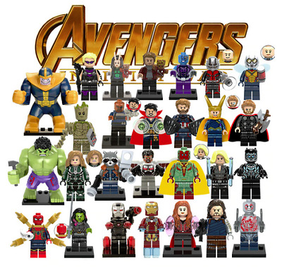 Marvel Minifigures - Guardians Of The Galaxy - Avengers - MORE - US SELLER - NEW