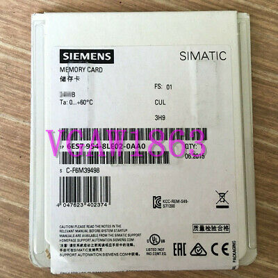 1PC SIEMENS 6ES7 954-8LE02-0AA0   6ES7954-8LE02-0AA0 New Fast Delivery #02