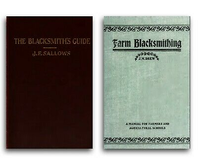 Blacksmith Books on CD - Forge Training Manual Farrier Anvil Hammer Welding 207