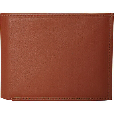 Mancini Leather Goods Men's RFID Secure Trifold Wing Men's Wallet NEW