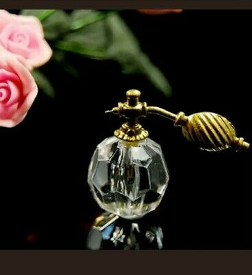 1:12th Miniature Doll House Accessories Mini Transparent Perfume Spray Bottle
