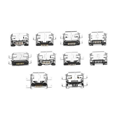 PCB USB Female Plug Connector Type-A Short Body Female PBC 1 Sets (100Pcs)