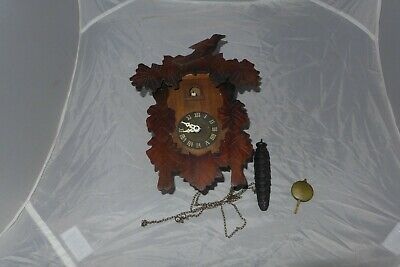 Vintage cuckoo clock wooden spares repairs