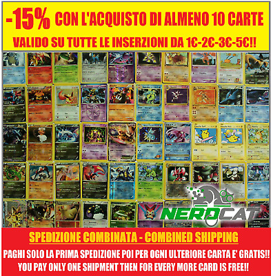 🍀Carte Pokémon RARE TUTTE A 2€ lotto Pokemon🍀