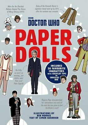 Doctor Who Paper Dolls by Dee, Christel Book The Fast Free Shipping