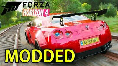 Forza Horizon 4 modded account xbox one+PC