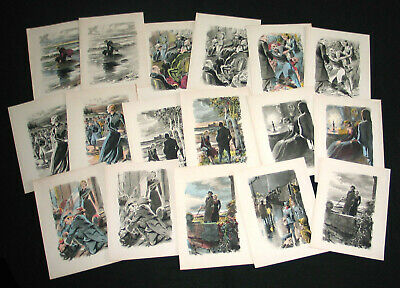 Lot 17 Dessin Andre Hofer Illustration Lithographie Origine Inconnue 1940 1950