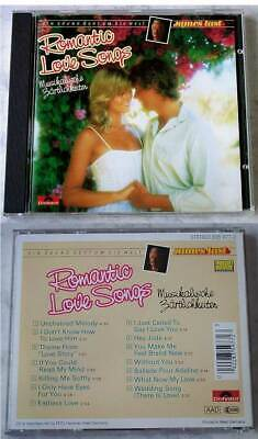 JAMES LAST Romantic Love Songs . 1988 Silver Black Polydor-CD TOP