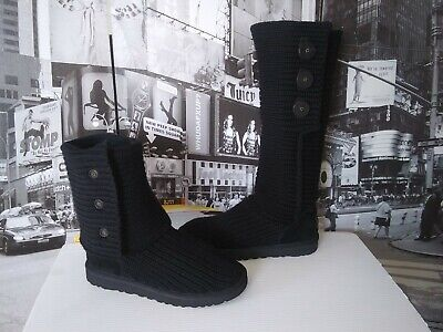 618626b703b UGG CLASSIC CARDY Tall Knit Brown boots size 10 - great condition ...
