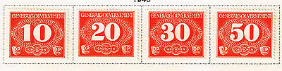 Germany WW2 General Government Rural Delivery set 1940 MLH