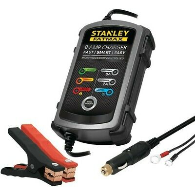 Stanley BGLBC8S 8 Amp FatMax Battery Charger & Maintainer