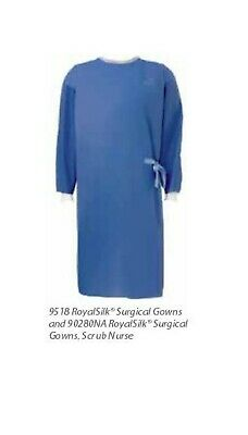 LOT of 25 Cardinal Health Royal Silk XL Surgical Gown NONSTERILE Potters Clay