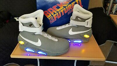 new products d1015 351e7 Universal Studios Back To The Future Shoes Officially Licensed Air Mags  Size 10