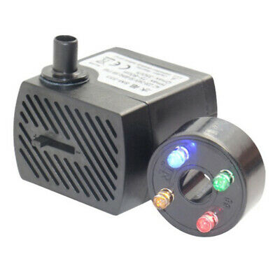 Submersible Water Pump with 12 LED Lights for Fountain Pond Swimming Pool