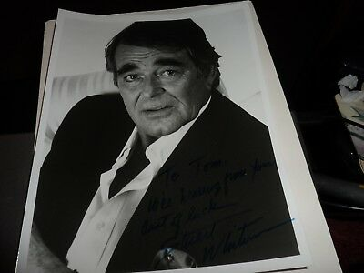 Autograph On 10 X 8 Photo Stuart Whitman The Commancheros Rio Conchos Etc.