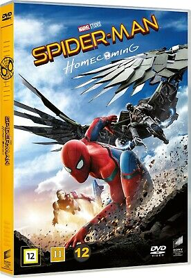 Spider-Man Homecoming DVD - Brand New!  Free Ship!