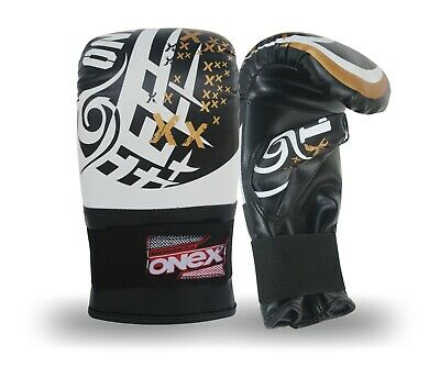 Adult Boxing Gloves Sparring Punch Bag Kickboxing Punching Gym Training Mitt MMA