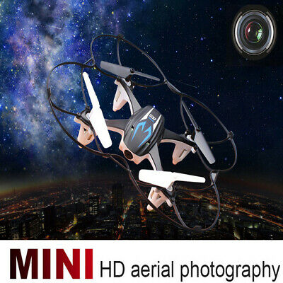 Mini RC Quadcopter 2.4GHz 4CH 6-Axis Gyro 3D UFO Drone With 2.0MP HD Camera