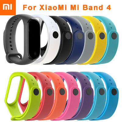 For Xiaomi Mi Band 4 Replacement Silicon Wristband Wrist Band Strap Bracelet it