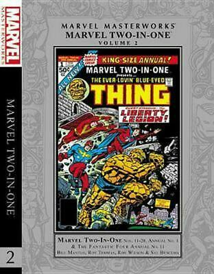 Marvel Masterworks: Marvel Two-in-one Vol. 2 by Bill Mantlo Hardcover Book Free