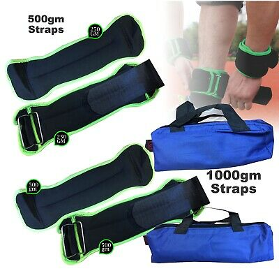 Ankle Weight Straps Leg Wrist Running Boxing Bracelet Straps Gym Fitness Workout