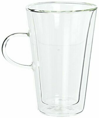 Bodum Bodum Canteen 2-Piece Cup With Handle, 13.5-Ounce, Clear