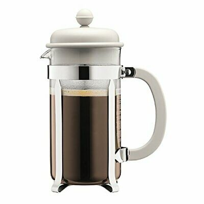 Bodum Caffettiera Coffee Maker, French Press with Plastic Lid, 8 Cups of Coffee