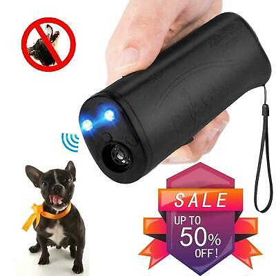 Ultrasonic Anti Dog Barking Pet Trainer LED Light Gentle Chaser-Petgentle Style
