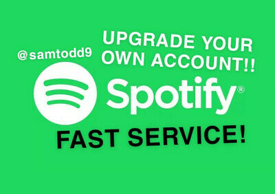 Spotify Premium 12 Months Upgrade Your Account Fast Delivery!