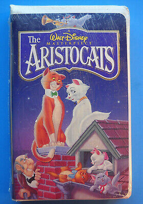 NEW! SEALED! Walt Disney Masterpiece THE ARISTOCATS Clamshell VHS