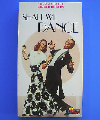 Fred Astaire Ginger Rogers SHALL WE DANCE Beta Betamax Nostalgia Merchant VG