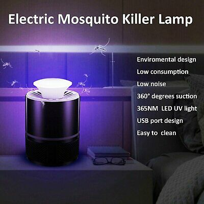 UV Electric Insect Mosquito Fly Killer Bug Zap Zapper Flying Pest Catcher Trap