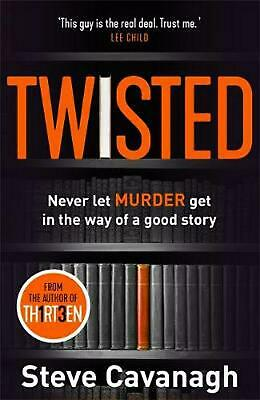 Twisted: The Sunday Times Bestseller by Steve Cavanagh Paperback Book Free Shipp