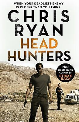 Head Hunters: Danny Black Thriller 6 by Chris Ryan Hardcover Book Free Shipping!