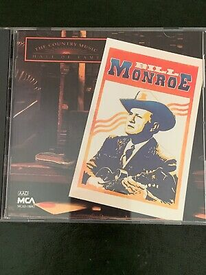 Bill Monroe  The Country Music Hall Of Fame  Cd