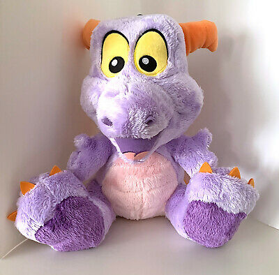 Walt Disney World Epcot Figment Purple Dragon 10 inch Big Feet Plush Doll NEW
