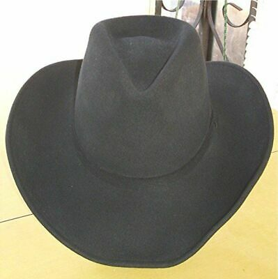 e916808e60a GUS ~ BLACK ~3X Wool Felt HAT~ 4.5