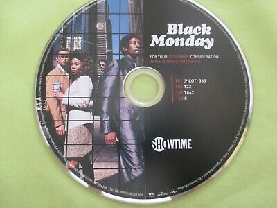 Black Monday Don Cheadle Showtime TV SHOW EMMY FYC SCREENER DVD 2019
